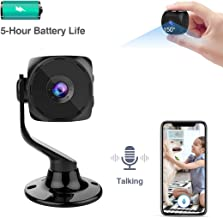 $49 Get MINIKEAN Spy Camera Wireless Hidden Small Tiny Security Cameras 1080P HD Home Mini WiFi Nanny Cam with Talk Two Way Night Vision Indoor Motion Detection Covert Surveillance Video Camera for Cell Phone
