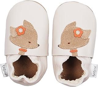 Milk Cuir B/éb/é Semelle Douce Chaussures Bobux Soft Sole Cub Blanc