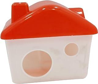 Royale Dog Hamster Sand Room Eco-Friendly Hamster Bathroom Cage House Harmless Bath House 1 Piece (Color May Vary)