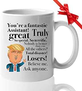 Donald Trump Coffee 11oz Mug for Assistant Medical Doctors Nurses Physician School Principal Teachers Student birthday Graduation Appreciation Present Pres