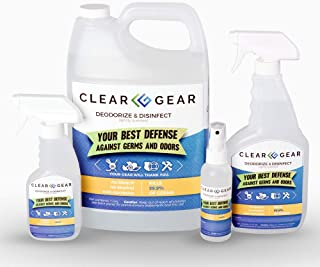 Clear Gear Disinfecting Spray Bottle