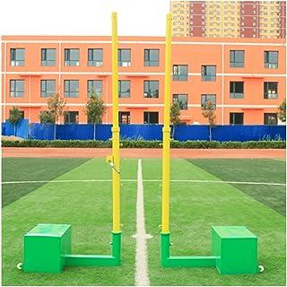 YILANJUN badmintonnät – multifunktionsnät utomhus – badmintonpelare – volleyballpfosten – badmintonpfosten