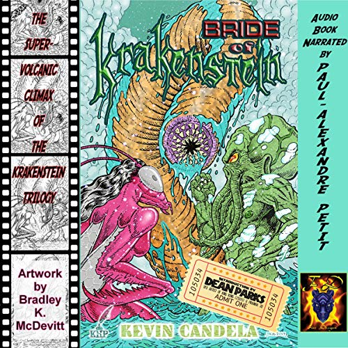Bride of Krakenstein audiobook cover art