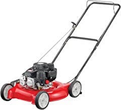 Yard Machines 132cc 20-Inch Push Gas Lawn Mower – Mower for Small to Medium Sized..