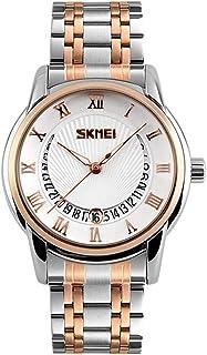 Delicate Men's Wrist Watches Boys' Wrist Watches Classic Watch Men's Business Watch Steel Strap Classic Quartz Watch,Colou...