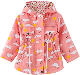 MaxKids Baby and Toddler Girls /& Boys Cartoon Cow Flannel Capes Poncho Coat Winter Hooded Outwear