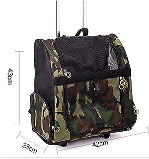 2e76ef42e0 Sac pour chariot pour animaux de compagnie Roue de transporteur Sac à dos  roulant Carrier bagages