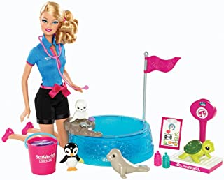 Barbie I Can Be… - Sea World Baby Animal Rescuer Playset