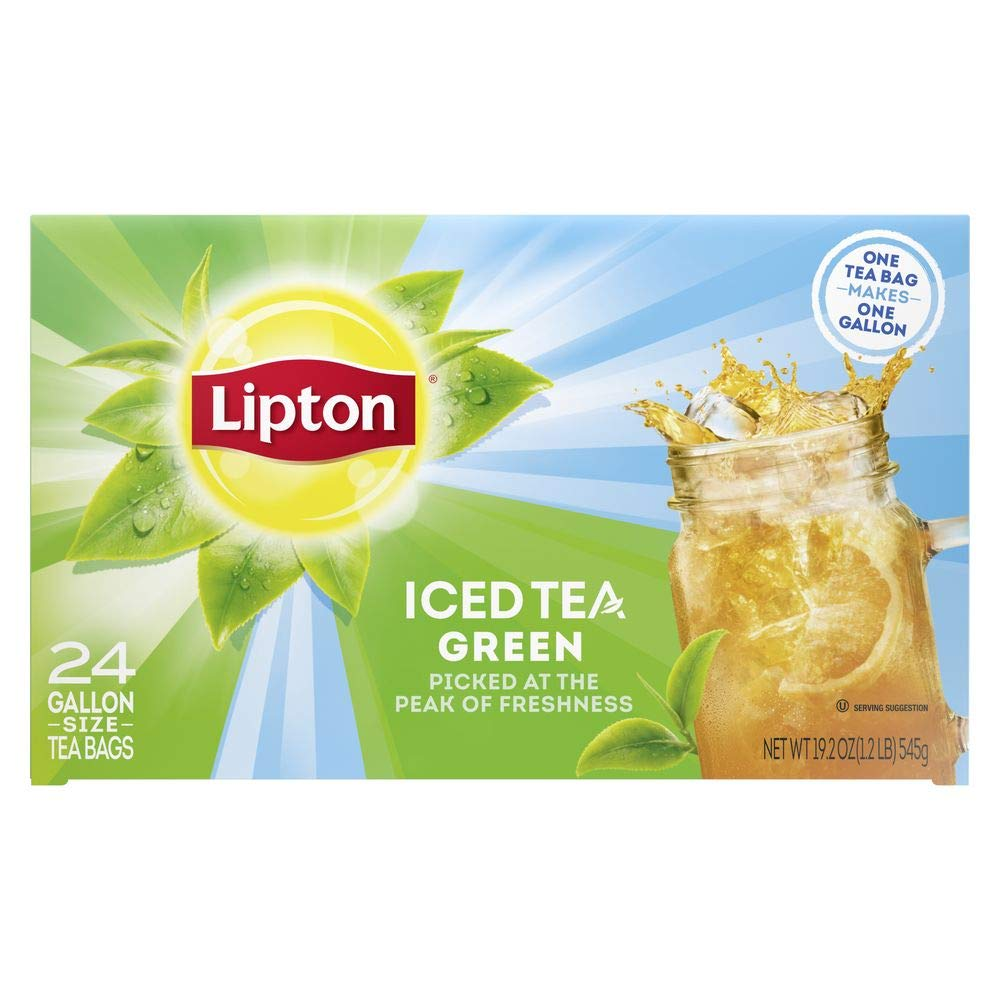 Lipton Green Iced Tea Washington Selling rankings Mall Bags Sour Unsweetened Made with Leaves