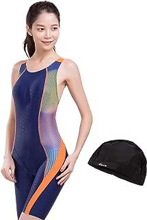 S4R(エスフォーアール) 競泳水着 フィットネス水着 ワンピース オールインワン レディース 体系カバー スリムデザイン フィットネス 水着 競泳用 練習用 大きいサイズ S/M/L/O/XO sw-l-15