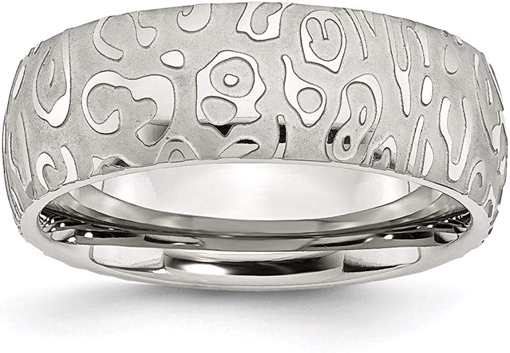 Ryan Jonathan outlet Fine Jewelry Stainless Steel Polished Max 64% OFF Brushed and