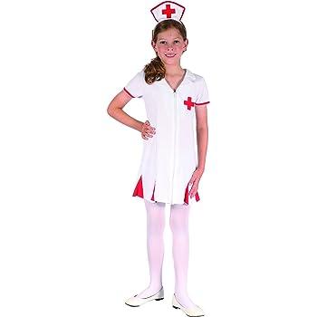Disfraz enfermera niña 10-12 años (140/152): Amazon.es: Juguetes y ...