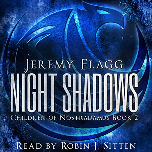 Night Shadows audiobook cover art