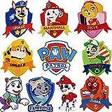 rche adhesivo para planchar con diseño de Paw patrol para niños, Parches Ropa 15 Coche Parches Ropa para planchar , chaquetas, chaquetas, mochilas, bufandas