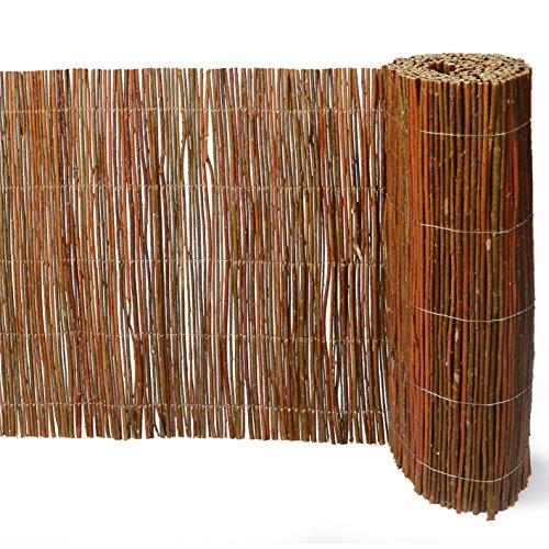 Weidenprofi Weidenmatte, Sichtschutzmatte, Verkleidung Rollzaun (BxH) 300 x 90 cm