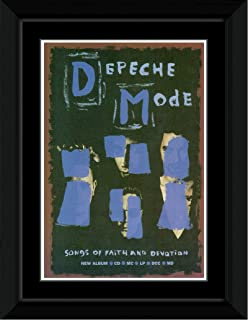 Depeche Mode - Songs Of Faith And Devotion Framed and Mounted Print - 14.7x10.2cm