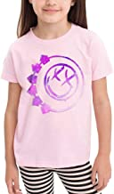 NYF Youth Boys Girls Blink 182 T-Shirts Fashion Funny Short Sleeve Kids T-Shirts Tee Black