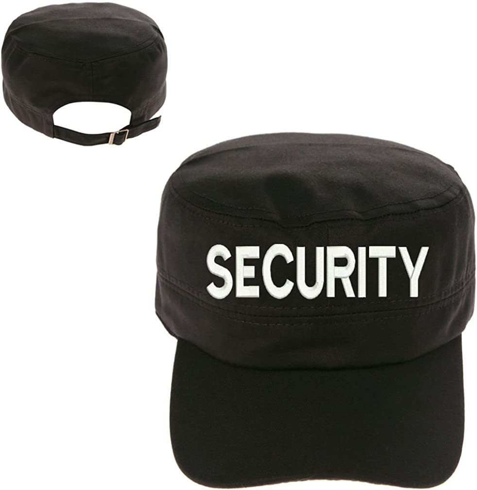 MILITARY Security Text Cadet Army Hunter Castro Cap Hat