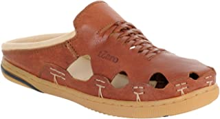 tZaro Genuine Leather RONNY4105TAN Cushioned Sandals