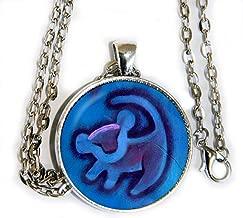 Simba Lion King - Rafiki's drawing - pendant necklace - HM