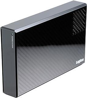 Logitec 外付けHDD 2TB eSATA・USB3.0 WD Red Pro搭載 冷却ファン付ハードディスク 日本製 LHD-EG20EU3FRP