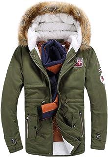 Giacche da uomo Cappotto invernale Cappotto caldo Giacca termica da Giovane Abiti da festa uomo Giacca da transizione Giac...