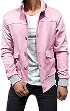 LEKODE Men Outwear Fashion Solid Handsome Long Sleeve Tops