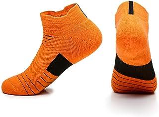 Calcetines Deportivos Hombre, Transpirable Calcetine de Baloncesto, Tenis, Correr, Ciclismo, Gimnasio, Uso Diario