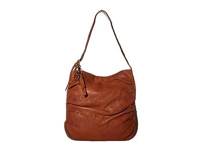 FRYE AND CO. Greta Hobo (Whiskey) Handbags