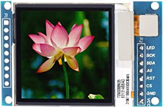 Tool Parts 1.6 inch TFT LCD Color Screen Display Module Serial Peripheral Interface 130X130 LCD Display Module