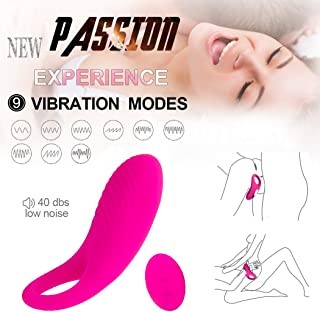 Remote Control Male Vibranting Wand Massager Wireless Rechargeable Back Neck Shoulder Relaxation Massaging with Multiple Men Vibrator Medical Grade Silicone Vibration Toys