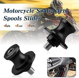 Sporacingrts M8 Motorcycle Swing Arm Spools Slider para Suzuki SV650 SV1000 gsxr 600 750 1000 v-Strom 650 1000 B- Rey TL1000 DL650 SV650/1000 Black