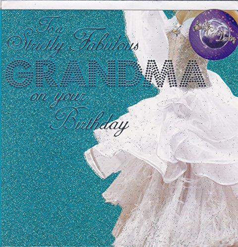 Oma verjaardagskaart ~ Strikt komen dansen ontwerp