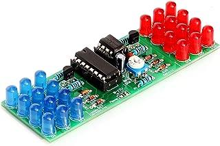 Gikfun NE555+CD4017 Module Red Blue Color Flashing Lights Lamp DIY Kit Soldering Kit for Arduino EK1936