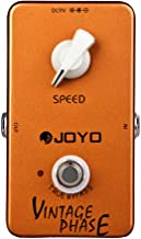 JOYO JF-06 Vintage Pedal Classic Phase Sounds of the 70's Guitar Pedal Effect