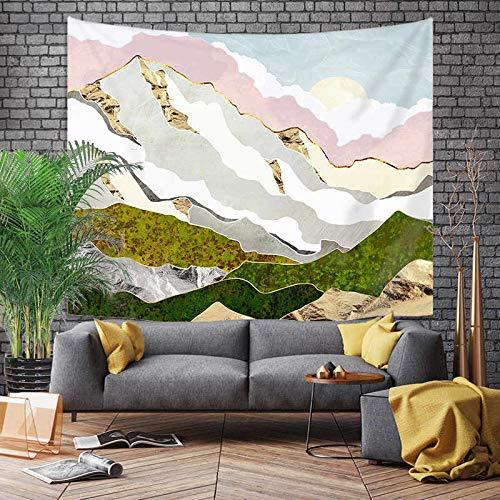 Tapiz grande de estilo japonés, dragón de ballena, pez, dragón y tótem de fénix, colgante de pared, tela de fondo bohemio, A20 130x150cm