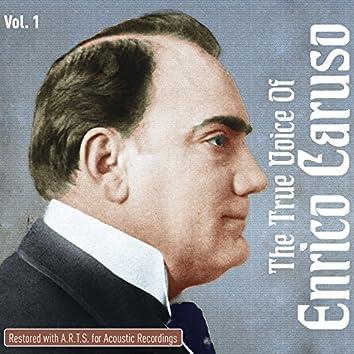 The True Voice Of Enrico Caruso, Vol. 1