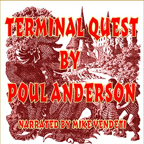 Terminal Quest audiobook cover art