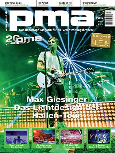 Singer Songwriter Musikproduzent Max Giesinger Die Reise Tour Lichtdesign / PRG LEA 2019 Verleihung