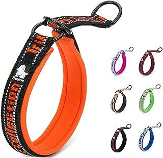 MOKCCI Truelove Neoprene Dog Collar Soft Best Reflective Adjustable Dog P-Chain Collar for Training