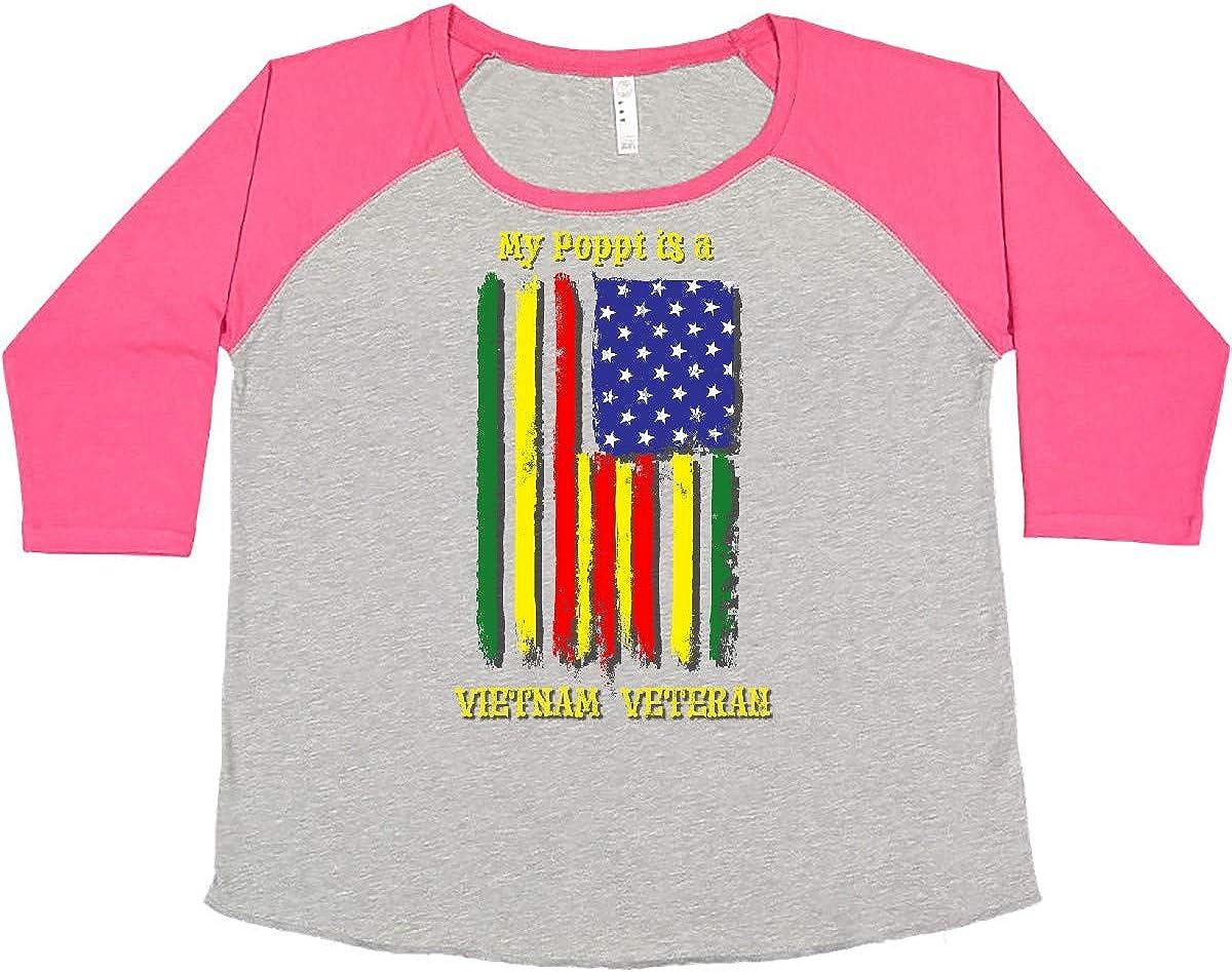 inktastic My Poppi is a Max 71% OFF Vietnam Women's T-Shir Size Plus Max 53% OFF Veteran