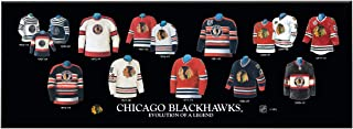 Winning Streak NHL Chicago Blackhawks Unisex Chicago Blackhawks Legacy Uniform PlaqueChicago Blackhawks Legacy Uniform Plaque, Black, Plaque