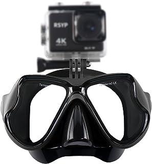 RSYP Gafas Buceo Máscaras de Buceo de cristal revestida