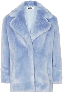 Anastasia Cappotto Invernale Oversize in Mohair Faux Donna