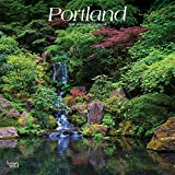 Portland 2020 12 x 12 Inch Monthly Square Wall Calendar, USA United States of America Oregon Pacific West Coast City
