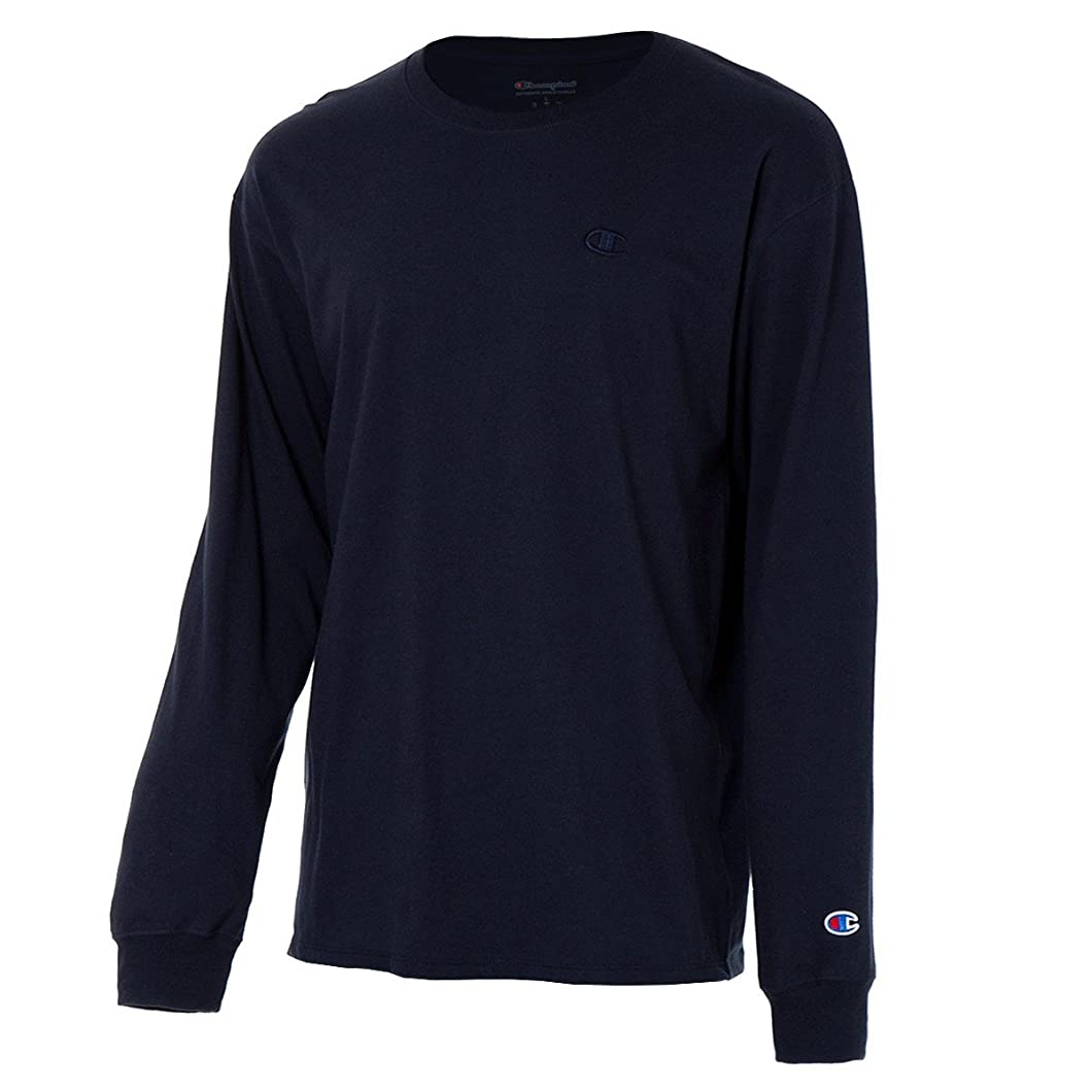 未払いディンカルビル先住民(チャンピオン) Champion メンズ トップス 長袖Tシャツ Classic Jersey LS Tee [並行輸入品]