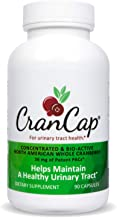 CranCap Cranberry Supplement for Urinary Tract Health | 36mg PAC | Powerful Urinary Tract Infection Prevention (90 Count)