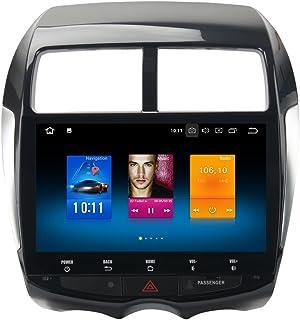 Dasaita Android 10.0 Car Stereo for Mitsubishi ASX RVR Outlander Sport Citroen C4 GPS Navigation Radio with 10.2 Inch Screen 4G Ram Head Unit