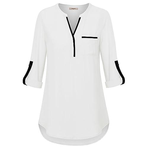 Women S Dressy Blouses Amazon Com