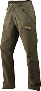 Härkila Waterproof Hunting Trousers for Men Agnar Hybrid Breathable Quiet Stalking Hunting Trousers with ArcStretch (TM) a...